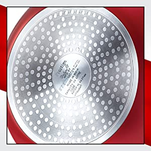 Prestige Induction Base Aluminium Pressure Handi