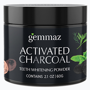 Gemmaz Activated Charcoal Teeth Whitening Powder is made from premium quality coconut shells for supreme results in whitening and protecting teeth, ...