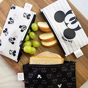 Disney reusable fabric snack bags