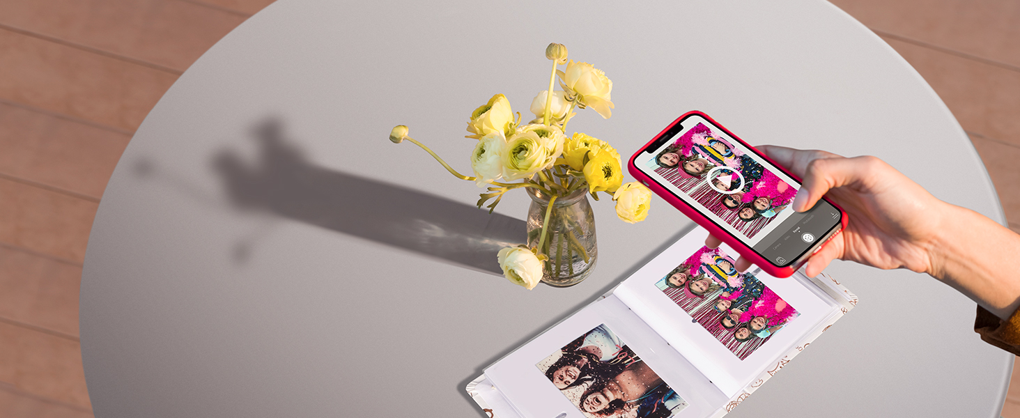 app adds video to photos relive moments sprocket augmented reality
