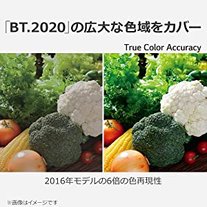 BT.2020の広大な色域をカバー
