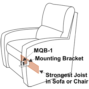 how to mount the earthquake sound mqb-1