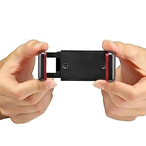 smartphone clamp, phone tripod