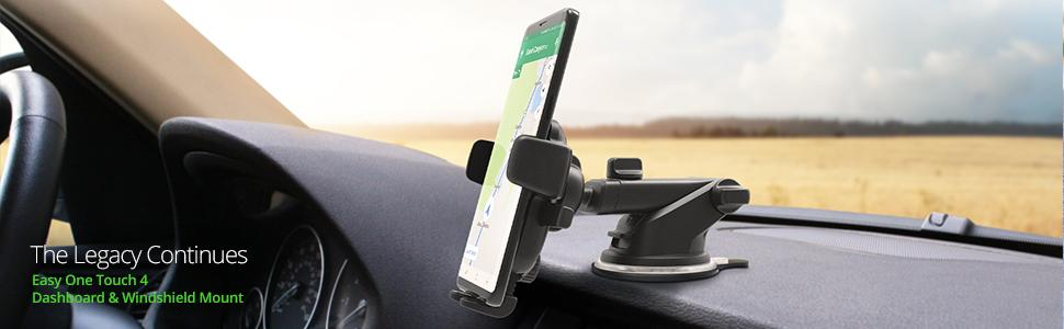 how to install cell phone holder in car, phone holder won't stick to dashboard