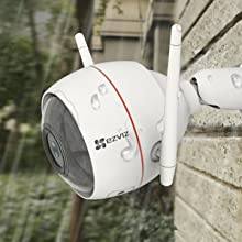 EZVIZ | Full HD Outdoor Smart Security Cam, With Siren