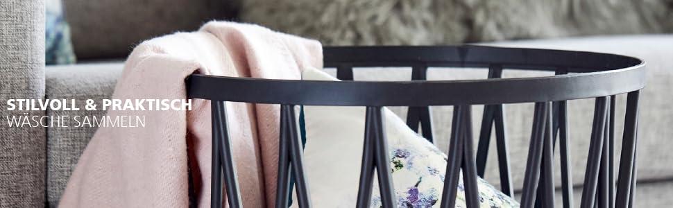 Tvättkorg och tvättkorg från Wenko - enkel och elegant förvaring