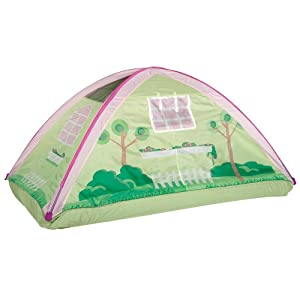 cottage bed tent play fun sleep