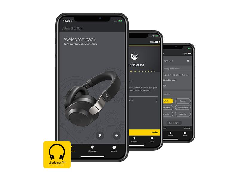 only 9.99 Get the Jabra Elite 85h Bluetooth Headphones