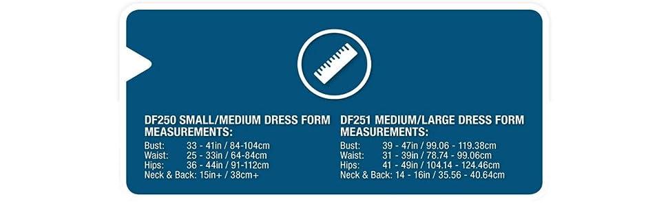 Amazon.com: SINGER DF251 Adjustable Dress Form, Medium/Large: Arts ...