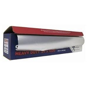 Durable Packaging 92410 Heavy Duty Aluminum Foil Roll 24