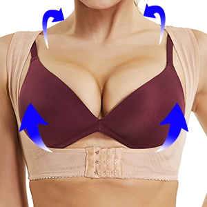 2e7a8a75ad U-shaped Design to Center   Lift Breast. Best shapewear crop top has a  comfortable push-up bra ...