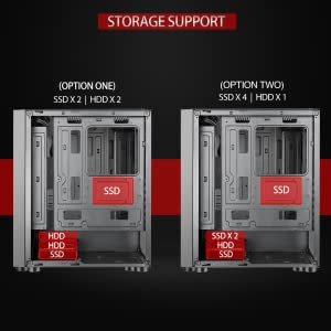 ssd, hdd, ssd slots, ice120, ice 120ag