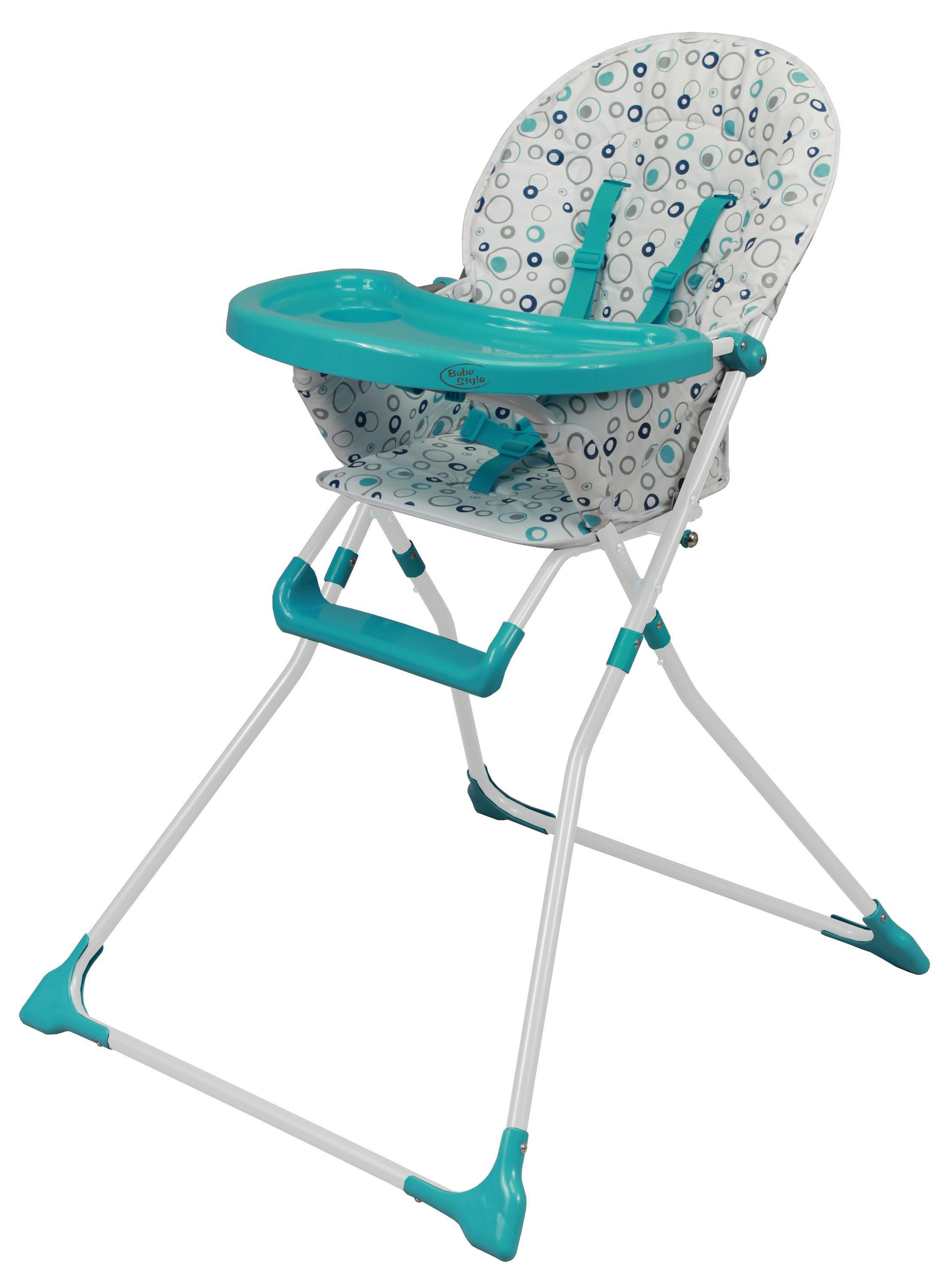 Lorelli Baby Feeding High Chair with folding seat safety belts