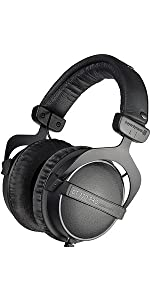 Beyerdynamic; headphones; studio; over-ear; dt 770; dt770; pro; 80 ohm; 32 ohm; german
