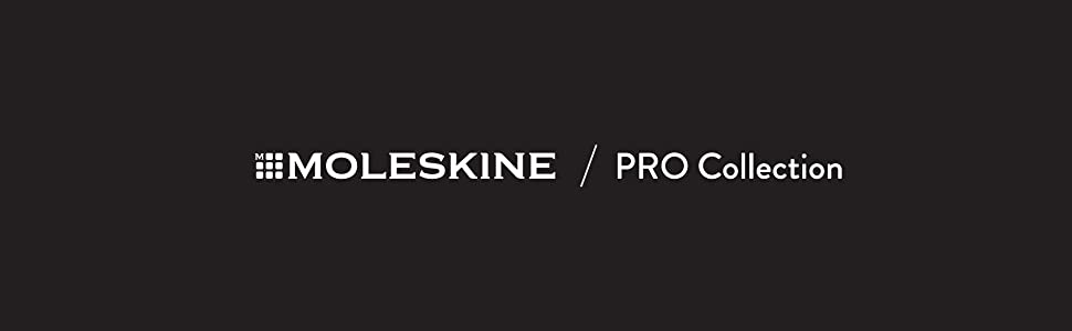 moleskine pro collection notebooks for writers and planners