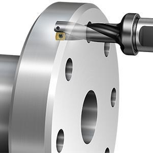 Pack of 1 1.26 Shank 32 mm Shank Diameter 880.L-03 Tool Style Code Sandvik Coromant 880-D2750L32-03 Corodrill 880 Indexable Insert Drill