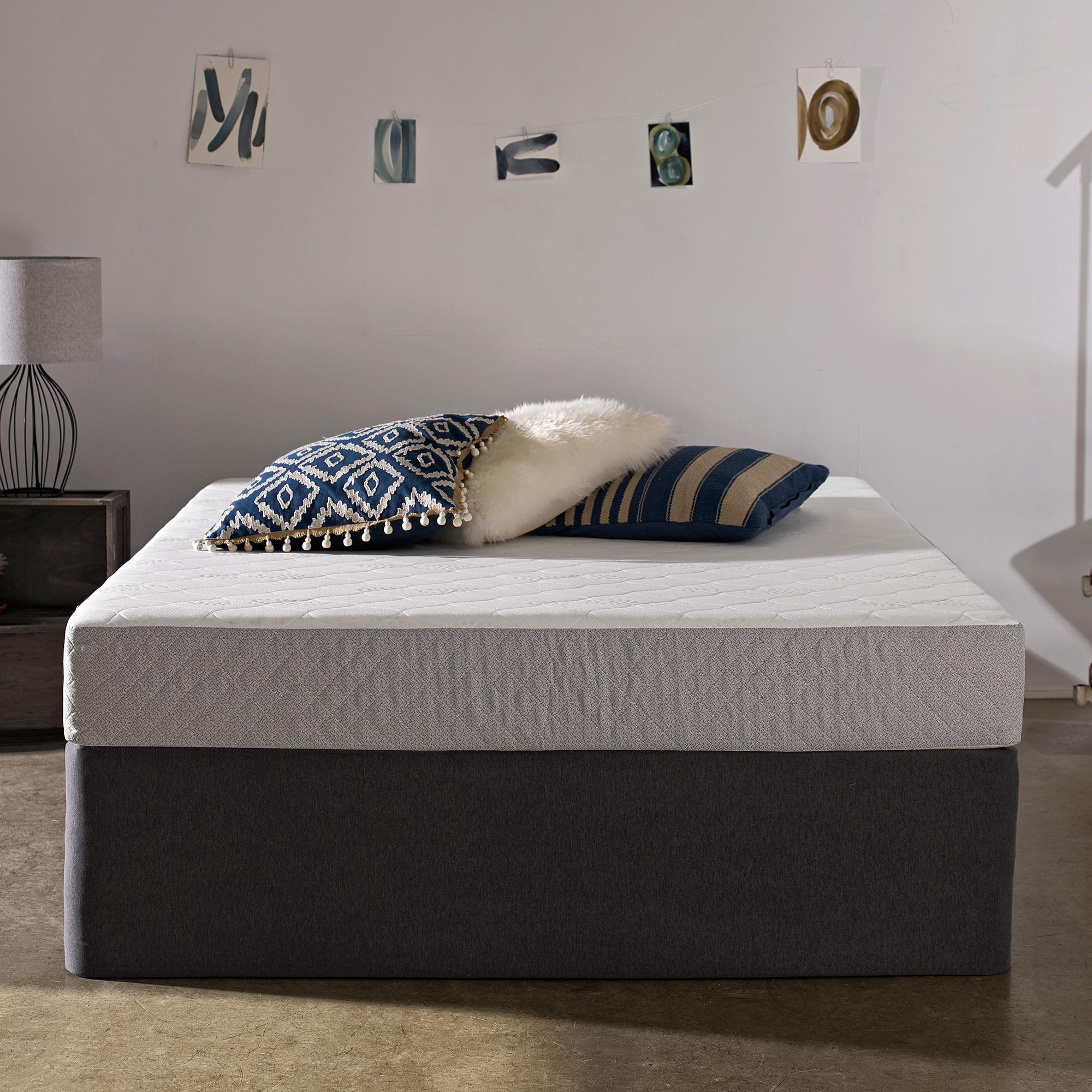 Amazon Com Sleep Innovations Sage 8 Inch Gel Memory Foam