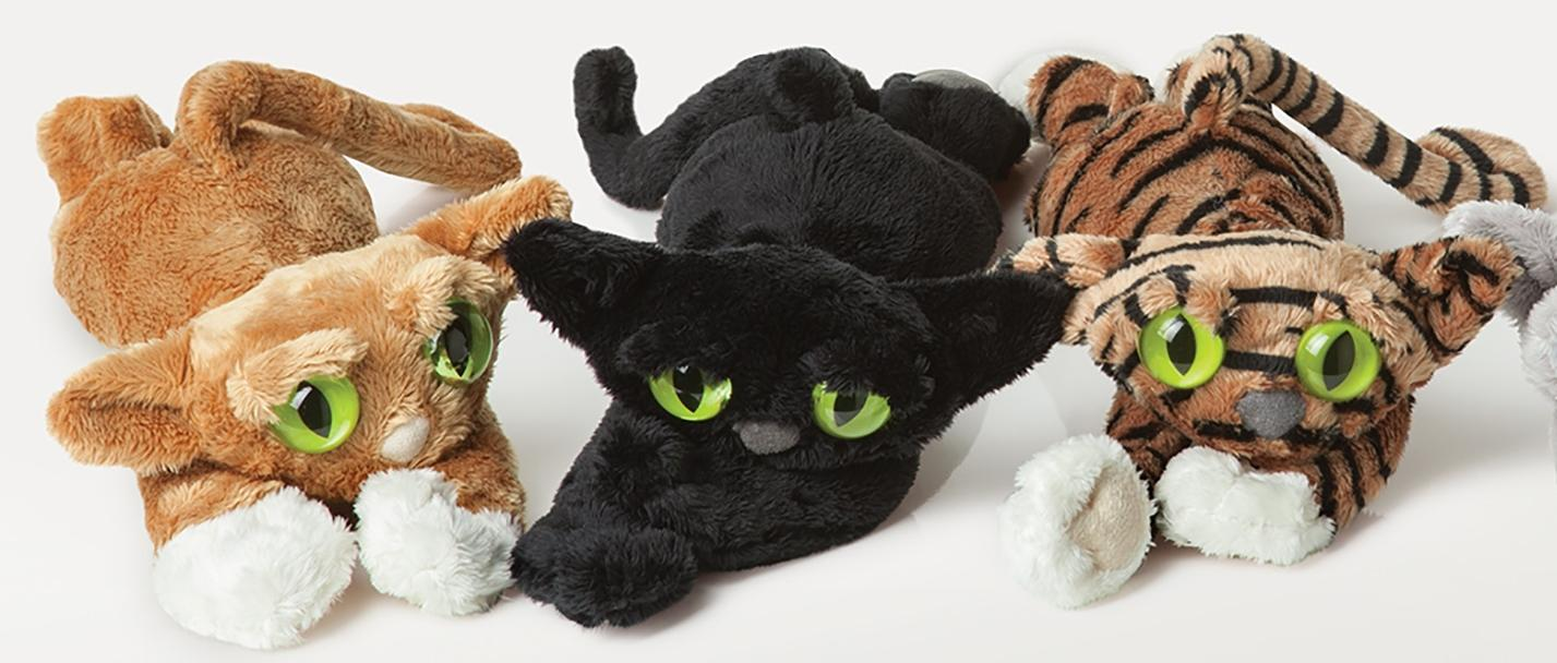 Manhattan Toy Lanky Cats Ziggy Black Cat 14 Plush Toys For 4 Year Old Girltoys 5 Boytoys