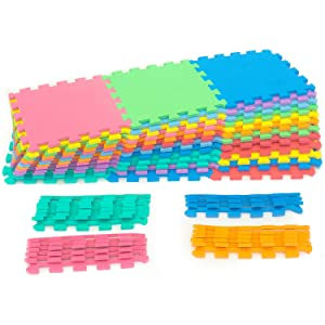 """Kids Floor Play Mat, customize, non-skid, thick, water resistant, 3/8 inch, 3/8"""", Durable, quality"""