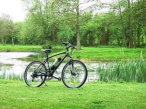 f243fe097f6 GreenEdge Unisex's CS2 Electric Bike, Black, 19-Inch: Amazon.co.uk ...