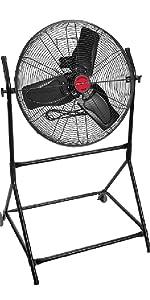 big fans; commercial electric fan