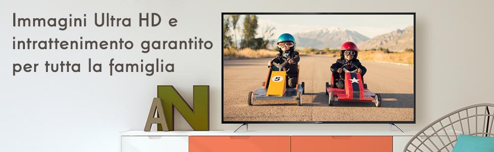 Ultra HD e intrattenimento