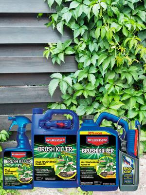 herbicide spray