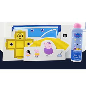 Peppa pig toddler foam bath jigsaw Children puzzle shower fun game Kid//Infant