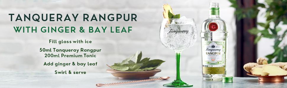 Tanqueray Rangpur with Ginger & Bay Leaf