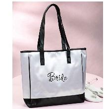 White Bride Tote Bag
