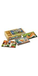 Wooden;Toys;fresh;kid;travel;multiple