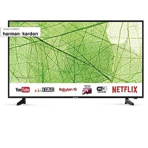Sharp 40aj2e 102 Cm 40 Inches 4k Ultra Hd Smart Led Tv Harman Kardon Sound System Home Cinema Tv Video