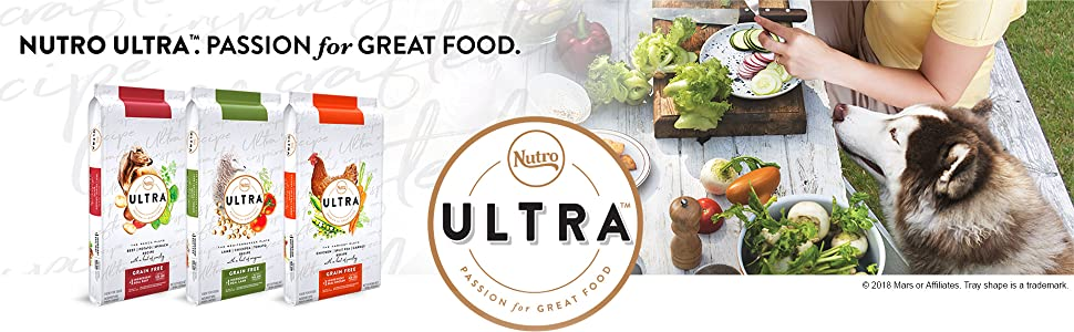 Ultra, Nutro, Dry Dog food