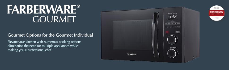 Amazon.com: Farberware fmo10ahsbka Horno de microondas ...