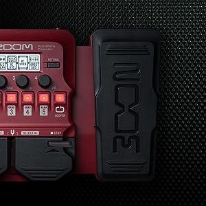 Zoom B1X FOUR Bass Guitar Multi-Effects Processor  8