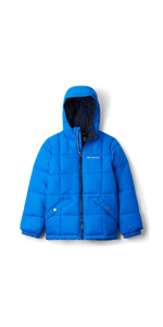L Azul Unisex Ni/ños Columbia Alpine Free Fall II Chaqueta de esqu/í Super Blue 438