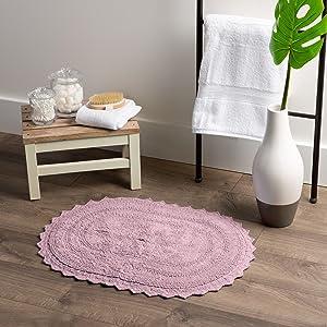 ambesonne bath mats, mauve bath mat, bath rugs, bath mats oval, oval bath mat, white bath mats