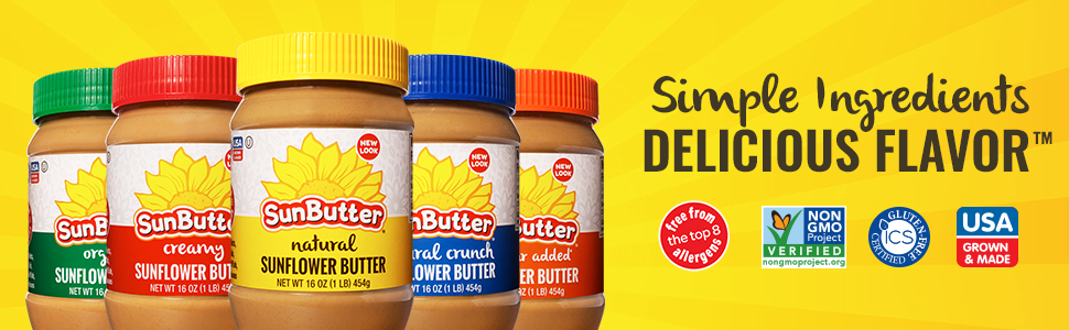 SunButter Simple Ingredients Delicious Flavor