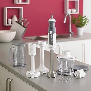 hand blender; food processor