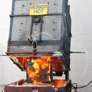fire testing safe