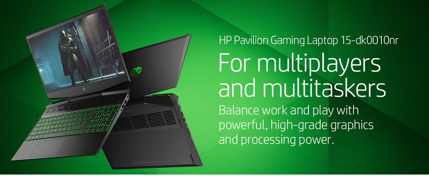 hp pavilion gaming laptop 15-dk0010nr