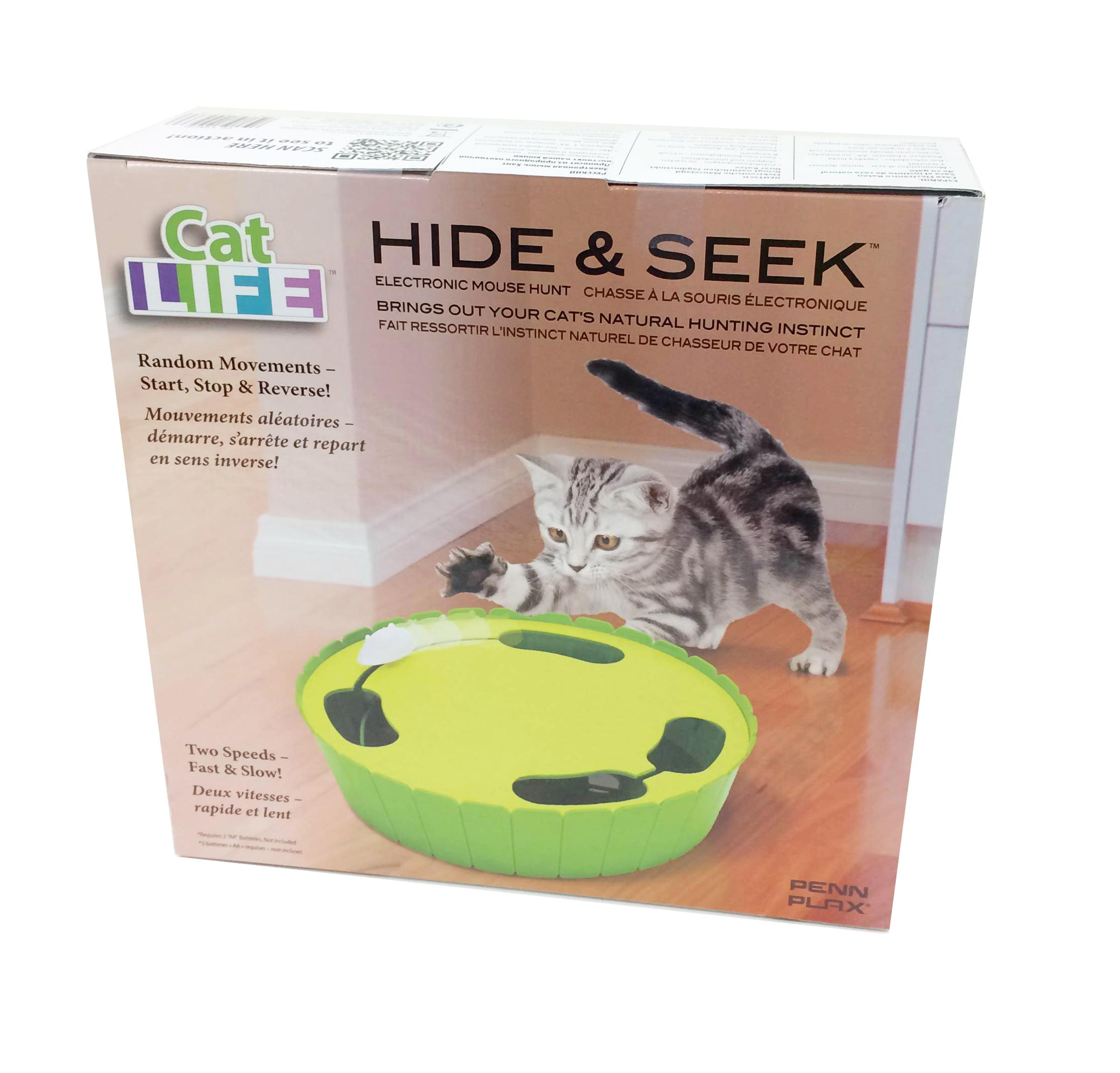 Penn Plax Interactive Electronic Hide And Seek Mouse Votrr View Larger