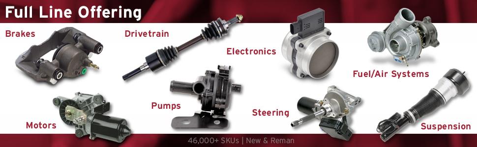cardone, remanufactured auto parts, auto parts, car parts