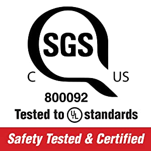 safety test, certified