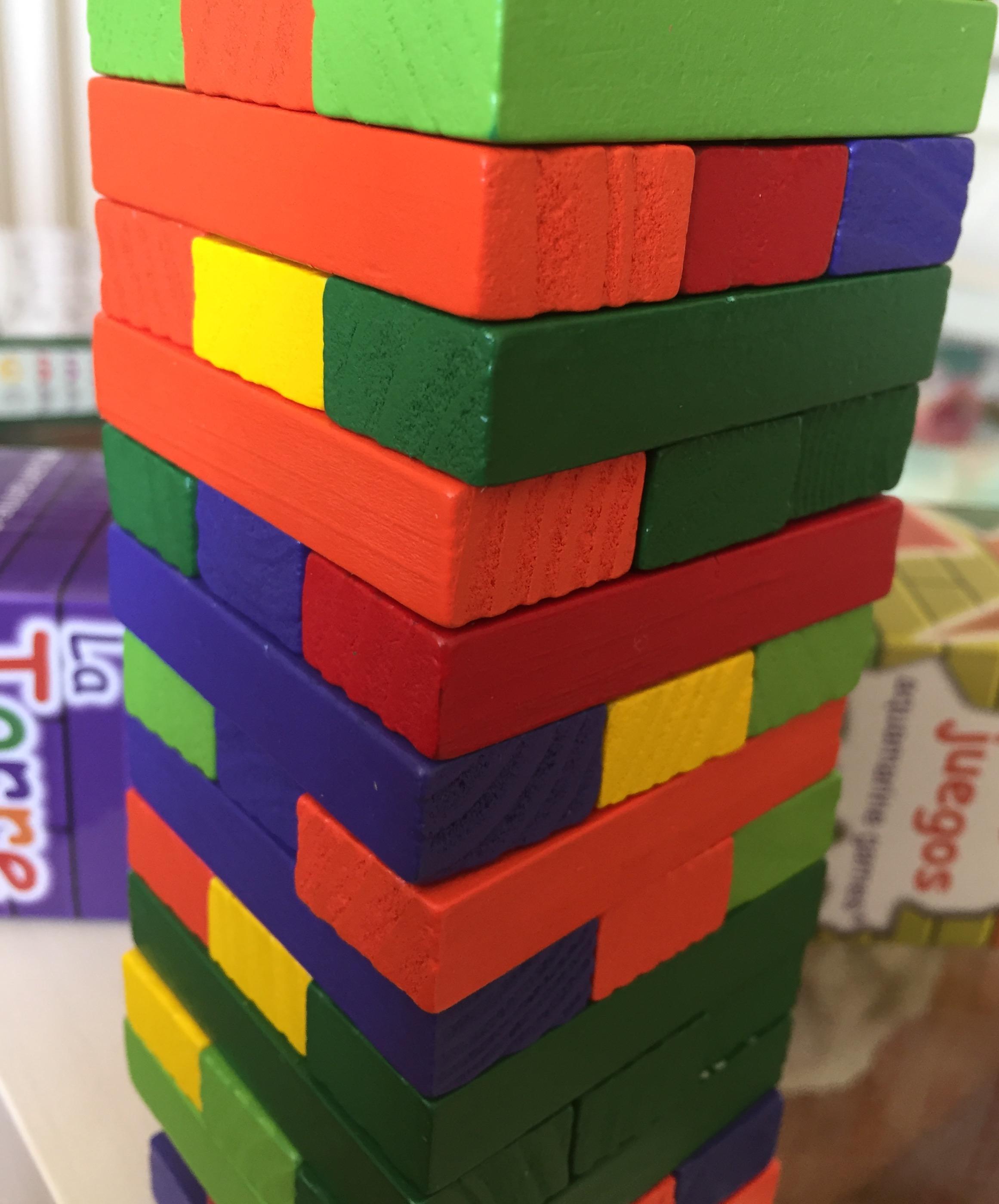 Aquamarine Games-La torre de colores, Miscelanea (Compudid CP006): Amazon.es: Juguetes y juegos
