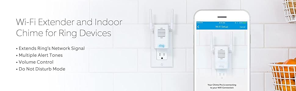 Ring Chime pro - Wi-Fi Enabled Indoor Chime for Video