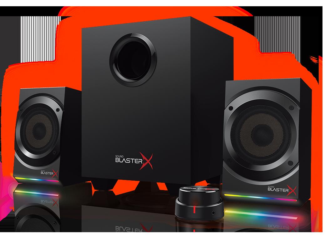 Amazon Com Sound Blasterx Kratos S5 2 1 Pc Computer