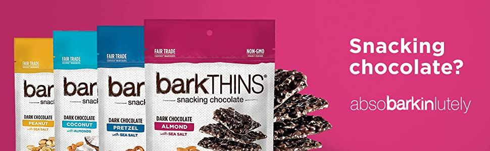 barkTHINS - Snacking chocolate? absobarkinlutely
