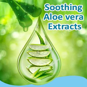 Enriched with Aloe Vera extracts