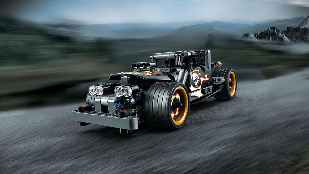 lego technic getaway racer 42046 building kit. Black Bedroom Furniture Sets. Home Design Ideas
